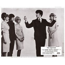 Rock & Roll  9 UK front-of-house lobby card sets, incl A Hard Day's Night, 200 Motels, Woodstock