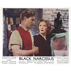 Black Narcissus original UK front-of-house lobby card set
