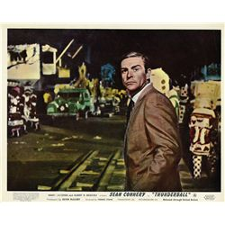 James Bond Thunderball original UK set of (8) front-of-house color lobby cards