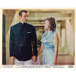 James Bond Dr. No and From Russia With Love original UK 8-card front-of-house color lobby sets