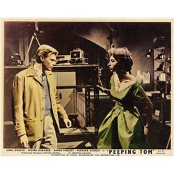 Pair of Michael Powell UK front-of-house lobby card sets for The Red Shoes and Peeping Tom