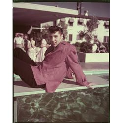 Elvis Presley color transparencies and camera negatives from Viva Las Vegas and other films