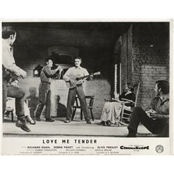 Elvis Presley collection of (6) UK front-of-house lobby card sets, including Love Me Tender