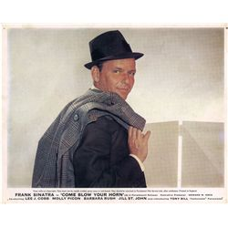 Frank Sinatra collection of (4) UK front-of-house color lobby card sets