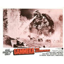 Gammera the Invincible original US lobby card set of (8)