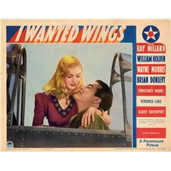 I Wanted Wings portrait lobby card of Veronica Lake's first featured film role