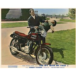 The Man from U.N.C.L.E. collection of (3) U.K. front-of-house color lobby card sets