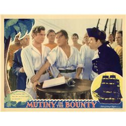 Mutiny on the Bounty near-mint original Lobby Card