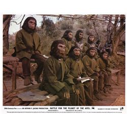 Planet of the Apes  35 UK front-of-house lobby cards from all five films in the original series