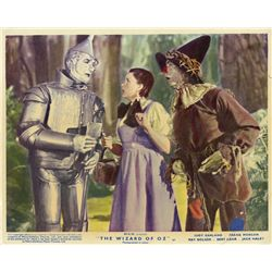 The Wizard of Oz R49 UK front-of-house color lobby card set
