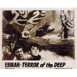 1960s Horror & Sci-Fi  5 UK lobby card sets, including The Day of the Triffids & Ebirah