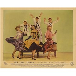 Classic M-G-M musicals pair of UK front-of-house lobby card sets, Singin' in the Rain & On the Town