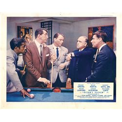 Rat Pack collection of (4) UK front-of-house color lobby card sets, including Ocean's Eleven