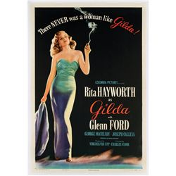 Gilda original near-mint linen-backed Style 'B' one-sheet poster