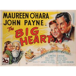 The Big Heart (Miracle on 34th Street) British Quad