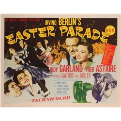 Easter Parade original U.S. half-sheet poster