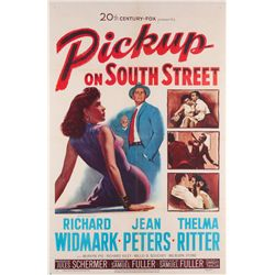 Film Noir collection of (5) 1-sheet posters including Pickup on South Street