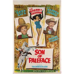 Roy Rogers collection of (3) 1-sheet posters including Son of Paleface and Pals of the Golden West