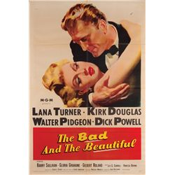 Great director collection of (5) 1-sheet posters, including The Bad and the Beautiful
