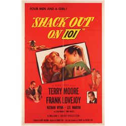 1950's Classic Crime collection of (10) 1-sheet posters including Shack Out on 101