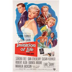 Douglas Sirk classic melodrama  6 1-sheet posters, including Written on the Wind & Imitation of Life