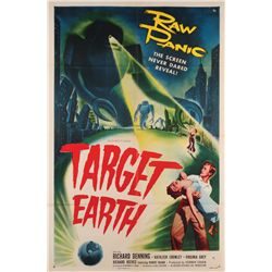 Target Earth 1-sheet poster