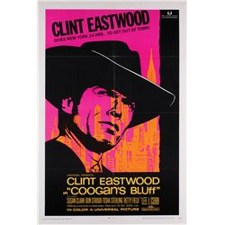 Clint Eastwood lot of (3) 1-sheet posters including Coogan's Bluff