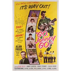 1950's Rock & Roll collection of (8) 1-sheet posters including Go Johnny Go and Rock All Night