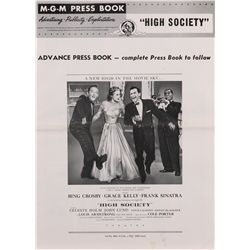 High Society 1-sheet poster and complete pressbook