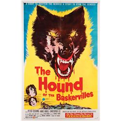 Classic Horror  7 1-sheet posters, including Black Sunday & Hound of the Baskervilles