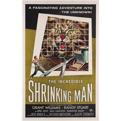 The Incredible Shrinking Man 1-sheet poster