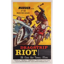 Dragstrip Riot virtually Mint 1-sheet poster