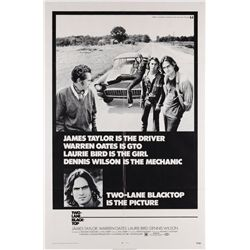 Car Racing collection of (5) 1-sheet posters including Two-Lane Blacktop