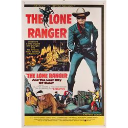 The Lone Ranger and the Lost City of Gold 1-sheet poster
