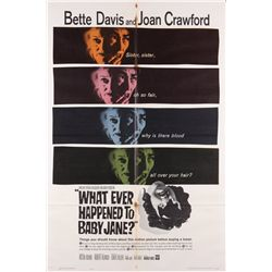 Horror & Science-Fiction  9 1-sheet posters including She & Whatever Happened to Baby Jane