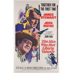 John Wayne collection of (8) 1-sheet posters including The Man Who Shot Liberty Valance