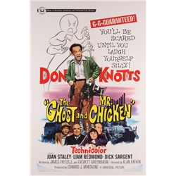 Don Knotts collection of (5) 1-sheet posters, including The Ghost and Mr. Chicken