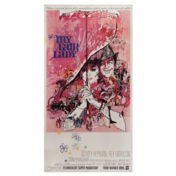 My Fair Lady original U.S. three-sheet poster on linen