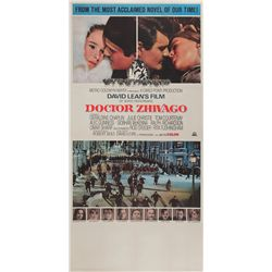 "Dr. Zhivago original U.S. ""Roadshow"" three-sheet poster on linen"