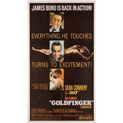 Goldfinger 1-sheet poster