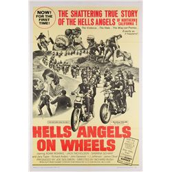 Hell's Angels and Biker-Film collection of (9) 1-sheet posters, including Hell's Angels on Wheels