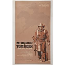 Tom Horn original U.S. 3-sheet poster on linen