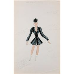 Sonja Henie Bolero costume for an Ice Revue show