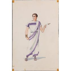 Elizabeth Haffenden costume design for Charlton Heston from Ben-Hur