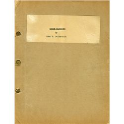 1950's Ingenue actress  4 scripts: Green Mansions 2 Drafts, The Glass Slipper