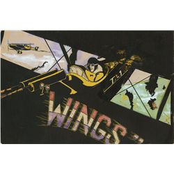 Original promotional artwork for Wings