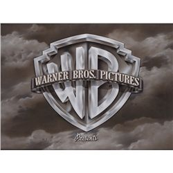 Warner Bros. main title opening camera logo art