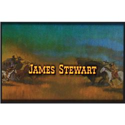 James Stewart title from How the West Was Won
