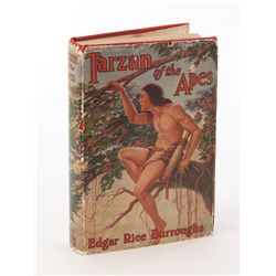 Tarzan of the Apes inscribed and signed by Edgar Rice Burroughs