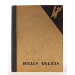 Hell's Angels signed by Howard Hughes and Jean Harlow